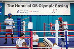 Pix: Shaun Flannery/shaunflanneryphotography.com...COPYRIGHT PICTURE>>SHAUN FLANNERY>01302-570814>>07778315553>>..16th September 2010...........GB Boxing. English Institute of Sport (EIS) Sheffield..Commenwealth Games boxers train at the Sheffield facility.