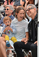 Jeff Goldblum, Emilie Livingston &amp; River Joe Goldblum at the Hollywood Walk of Fame Star Ceremony honoring actor Jeff Goldblum, Los Angeles, USA 14 June 2018<br /> Picture: Paul Smith/Featureflash/SilverHub 0208 004 5359 sales@silverhubmedia.com