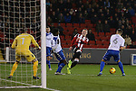 Caolan Lavery of Sheffield Utd during the English League One match at the Bramall Lane Stadium, Sheffield. Picture date: November 22nd, 2016. Pic Simon Bellis/Sportimage