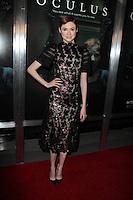 "Karen Gillan<br /> at the ""Oculus"" Los Angeles Screening, TCL Chinese 6, Hollywood, CA 04-03-14<br /> David Edwards/DailyCeleb.com 818-249-4998"