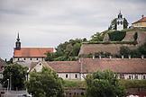 SERBIA, Novi Sad, Rooftops near the City Museum, Eastern Europe