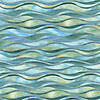 Oasis, a waterjet jewel glass mosaic, shown in Peacock Topaz and Aquamarine.