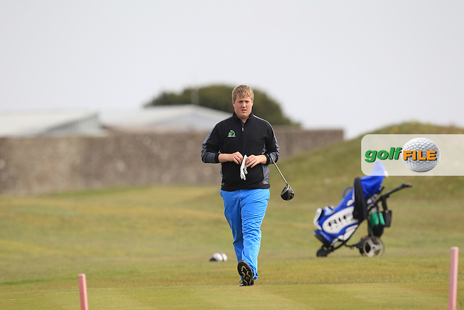 Michael Ryan (New Ross) on the 3rd during Round 2 of the Flogas Irish Amateur Open Championship at Royal Dublin on Friday 6th May 2016.<br /> Picture:  Thos Caffrey / www.golffile.ie