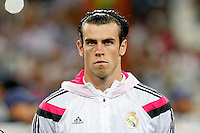 Gareth Bale of Real Madrid during the Champions League group B soccer match between Real Madrid and FC Basel 1893 at Santiago Bernabeu Stadium in Madrid, Spain. September 16, 2014. (ALTERPHOTOS/Caro Marin) /NortePhoto.com