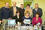 FARMBIZ: At the Farmbiz enterprise open day at the CYMS Hall in Killorglin on Thursday last were, front l-r: Karen Smyth (Patents Office), Anne Fleming (Skillnet), Catherine Evans (SKDP). Back, l-r: Emmet Spring (SKDP), Tom Shanahan (Teagasc), Joe McCrohan (SKDP), Anne McCarthy, Cllr Johnny O'Connor (Chair Agriculture Committee, SKDP).   Copyright Kerry's Eye 2008