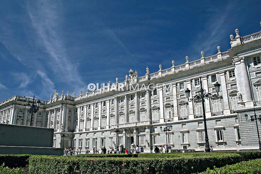 Palácio Real em Madri. Espanha. 2007. Foto de Marcio Nel Cimatti.