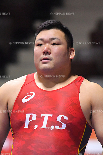 &infin;&ne;&le; Tetsuya Tanaka, <br /> JUNE 16, 2017 - Wrestling : <br /> Meiji Cup All Japan Invitational Wrestling Championships 2017 <br /> Men's Freestyle -125kg Final <br /> at 2nd Yoyogi Gymnasium, Tokyo, Japan. <br /> (Photo by MATSUO.K/AFLO)