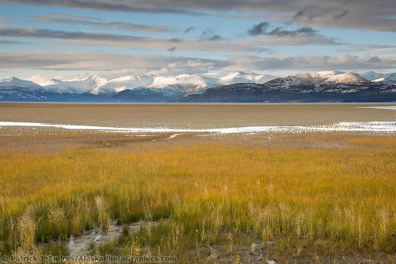 Kluane lake, Kluane National Park, Yukon Territory, Canada
