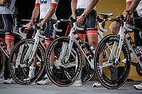 Team Trek Segafredo Team Presentation<br /> <br /> Le Grand D&eacute;part 2018<br /> 105th Tour de France 2018<br /> &copy;Kramon