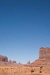 U.S.A., Arizona, Monument Valley, Navajo Tribal Park, red rock, American, desert landscape, Highway 163,