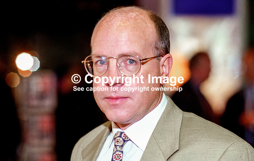 John White, deputy leader, Ulster Democratic Party, N Ireland, UK, 199509020.<br />