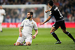 "José Ignacio Fernández Iglesias ""Nacho"" of Real Madrid in action during the La Liga match between Real Madrid and RC Deportivo La Coruna at the Santiago Bernabeu Stadium on 10 December 2016 in Madrid, Spain. Photo by Diego Gonzalez Souto / Power Sport Images"