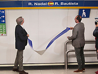 They are a total of 18 stations for the 18 teams that will compete in the final of the tennis tournament. The Davis Cup finals will be held for the first time in Madrid, between November 18 and 24 at the Caja Magica.<br /> Angel Garrido and Albert Costa