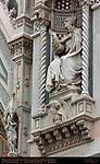 Bishop Agostino Tinacci Angel with Vase Eve in Sheepskin Left Portal Santa Maria del Fiore Florence