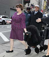 February 12, 2020 Siba winner of Westminster Kennel Club Best in Show winner at Good Morning America in NewYork.February 12, 2020. <br /> CAP/MPI/RW<br /> ©RW/MPI/Capital Pictures