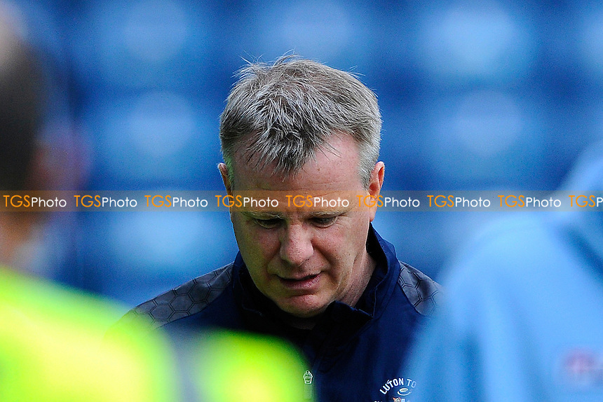Luton Town Caretakeer Manager Andy Awford  during Portsmouth vs Luton Town, Sky Bet League 2 Football at Fratton Park, Portsmouth, England on 28/12/2015