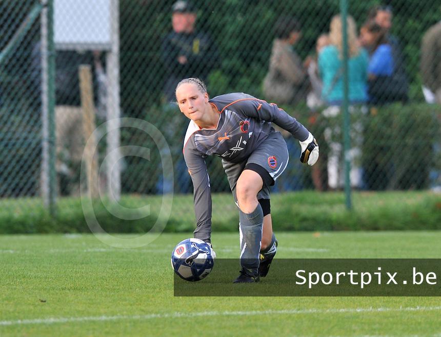 Club Brugge Dames : Kim Dossche.foto VDB BART VANDENBROUCKE
