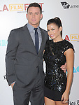 Channing Tatum and Jenna Dewan at The Warner Bros. Pictures World Premiere and Closing night of The Los Angeles Film Festival  held at   The Regal Cinemas L.A. LIVE Stadium 14 in Los Angeles, California on June 24,2012                                                                               © 2012 Hollywood Press Agency
