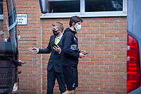 27th June 2020; Carrow Road, Norwich, England; FA Cup 6th round tie, Norwich City versus Manchester united; Teams arriving at the stadium pre-match; Norwich Goalkeeper Timm Klose arriving at Carrow Road