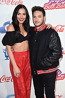 LONDON, UK. December 08, 2018: Lennon Stella & Jonas Blue at Capital's Jingle Bell Ball 2018 with Coca-Cola, O2 Arena, London.<br /> Picture: Steve Vas/Featureflash