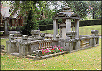 BNPS.co.uk (01202 558833)<br /> Pic: AmberleyPublishing/BNPS<br /> <br /> The Soane Memorial in Old St Pancras churchyard, which provided Giles Gilbert Scott with the inspiration for the design of the K2 kiosk&rsquo;s domed roof.<br /> <br /> The iconic British phonebox has been given a ringing endorsement in a new book charting the expiring institution's fascinating history. <br /> <br /> Aptly titled 'The British Phonebox', the book primarily focuses on the ubiquitous design that's as emblematic to Britain as the black cab, double decker bus and Houses of Parliament. <br /> <br /> Equally interesting are the early chapters, which detail the phonebox's humble 19th century beginnings and the final ones, that bemoan their dwindling numbers <br /> <br /> The 96 page paperback, jointly authored by friends Nigel Linge and Andy Sutton, is published by Amberley and costs &pound;13.49.