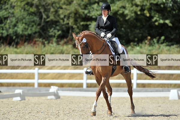 Class 9. British dressage. Brook Farm Training Centre. Essex. UK. 28/07/2018. ~ MANDATORY Credit Garry Bowden/Sportinpictures - NO UNAUTHORISED USE - 07837 394578