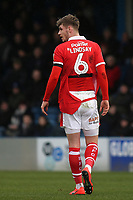 Liam Lindsay of Barnsley wearing a torn shirt during Gillingham vs Barnsley, Sky Bet EFL League 1 Football at The Medway Priestfield Stadium on 9th February 2019
