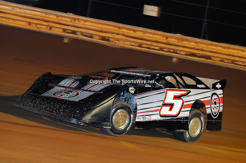 Jan 28, 2010; 7:57:47 PM; Waynesville, GA., USA; The Southern All Stars Racing Series running The Super Bowl of Racing VI at Golden Isles Speedway.  Mandatory Credit: (thesportswire.net)