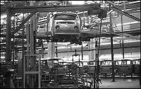 BNPS.co.uk (01202 558833)<br /> Pic: Danbury/BNPS<br /> <br /> ****Please use full byline****<br /> <br /> The old VW factory.<br /> <br /> The last ever delivery of brand new Volkswagen campervans has arrived in Britain marking the end of an era for the iconic 'hippy bus'.<br /> <br /> Ninety nine of the final batch of vans rolled off the production line and onto a container ship bound for British shores after manufacture ceased for good in Brazil in December.<br /> <br /> And though the consignment has only just arrived, almost all of the vans have already been snapped up by eager buyers happy to fork out the &pound;35,000 starting price.<br /> <br /> They are the last brand new campers in all of Europe.