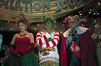 How the Grinch Stole Christmas (2000) <br /> Jim Carrey, Jeffrey Tambor &amp; Christine Baranski<br /> *Filmstill - Editorial Use Only*<br /> CAP/KFS<br /> Image supplied by Capital Pictures