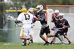 Palos Verdes, CA 04/14/09 -  Skylar Shapiro (Peninsula #13) and Joshua Carroll (PV#18)