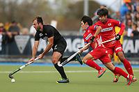 Nic Woods. International Hockey, Blacksticks Men v Japan, TET Multisport Centre, Stratford, New Zealand. Saturday 12 October 2019. Photo: Simon Watts/www.bwmedia.co.nz/HockeyNZ