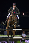 Olivier Philippaerts on H&M Challenge v. Begijnakker competes during the AirbusTrophy at the Longines Masters of Hong Kong on 20 February 2016 at the Asia World Expo in Hong Kong, China. Photo by Juan Manuel Serrano / Power Sport Images