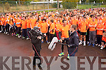 At the Mercy Mounthawk School Fun Run to promote the Cycle Against Suicide Campaign on Friday