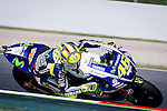 The Rider Valentino Rossi during the qualifying practice of MotoGP Grand Prix of Catalunya. 06/14/2014. Samuel Roman/Photocall3000