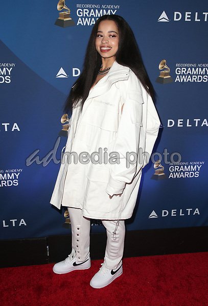 07 February 2019 - Los Angeles, California - Ella Mai. Delta Air Lines 2019 GRAMMY Party held at Mondrian Los Angeles. Photo Credit: Faye Sadou/AdMedia