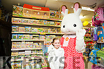 Shauna Quinlen.with Freya at the Caballs Toystore at the Sylvanian Family fun morning on Saturday