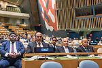 72 General Debate &ndash; 20 September <br /> <br /> 1His Highness Sheikh Jaber Al-Mubarak Al-Hamad Al Sabah, Prime Minister of the State of Kuwait<br /> <br /> Delegate of Prime Minister of the State of Kuwait, Waiting  patiently to be correctly announce