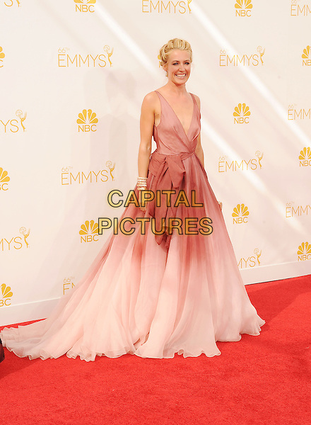 LOS ANGELES, CA- AUGUST 25: TV personality Cat Deeley arrives at the 66th Annual Primetime Emmy Awards at Nokia Theatre L.A. Live on August 25, 2014 in Los Angeles, California.<br /> CAP/ROT/TM<br /> &copy;Tony Michaels/Roth Stock/Capital Pictures
