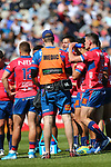 NELSON, NEW ZEALAND - OCTOBER 6: Mitre 10 Cup Tasman v Northland game on October 6 at Trafalgar Park 2019 in Nelson, New Zealand. (Photo by:  Shuttersport Limited)