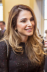 09.03.2017; Washington DC; USA: QUEEN RANIA<br />visits the Georgetown University Institute for Women, Peace &amp; Security.<br />Mandatory Photo Credit: &copy;Royal Hashemite Court/NEWSPIX INTERNATIONAL<br /><br />PHOTO CREDIT MANDATORY!!: NEWSPIX INTERNATIONAL(Failure to credit will incur a surcharge of 100% of reproduction fees)<br /><br />IMMEDIATE CONFIRMATION OF USAGE REQUIRED:<br />Newspix International, 31 Chinnery Hill, Bishop's Stortford, ENGLAND CM23 3PS<br />Tel:+441279 324672  ; Fax: +441279656877<br />Mobile:  0777568 1153<br />e-mail: info@newspixinternational.co.uk<br />&ldquo;All Fees Payable To Newspix International&rdquo;