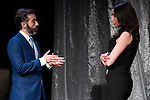 "Pepe Ocio and Marta Flich during the theater play of ""Debate"", the comeback to the teather of Toni Canto at Teatros del Canal in Madrid. May 03, 2016. (ALTERPHOTOS/Borja B.Hojas)"