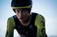 Esteban Chaves (COL/Mitchelton-Scott) rolling in at the finish<br /> <br /> stage 10 (ITT): Jurançon to Pau (36.2km > in FRANCE)<br /> La Vuelta 2019<br /> <br /> ©kramon