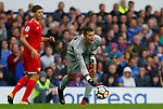 Sevilla's David Soria during the pre season friendly match at Goodison Park Stadium, Liverpool. Picture date 6th August 2017. Picture credit should read: Paul Thomas/Sportimage