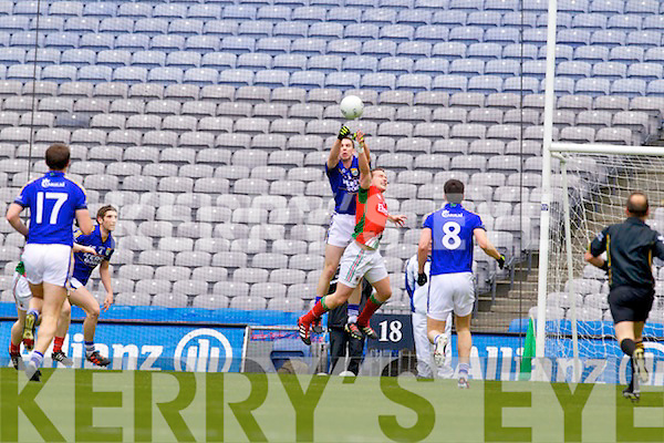 Marc O Se Kerry in action against   Mayo in the National Football League Semi Final at Croke Park on Sunday.