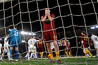 Kostas Manolas of AS Roma reacts after missing a goal during the Uefa Champions League 2018/2019 Group G football match between AS Roma and Real Madrid atOlimpico stadium , Rome, November, 27, 2018 <br />  Foto Andrea Staccioli / Insidefoto
