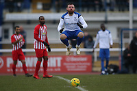 Billy Bricknell  of Enfiled during Enfield Town vs Folkestone Invicta, BetVictor League Premier Division Football at the Queen Elizabeth II Stadium on 16th November 2019