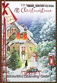 John, CHRISTMAS LANDSCAPES, WEIHNACHTEN WINTERLANDSCHAFTEN, NAVIDAD PAISAJES DE INVIERNO, paintings+++++,GBHSSXC50-1131A,#xl#