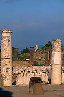 Italy ,Campania ,Pompei,Apollo Temple