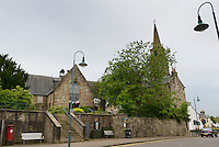 The Auld Kirk Museum, Kirkintilloch, UK, East Dunbartonshire, June 24, 2014. Rita Taketsuru was the Scottish wife of the founder of Nikka Whisky, Masataka Taketsuru. She was born in Kirkintilloch, near Glasgow, Scotland.